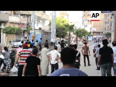 Clashes in the home province of deposed Egyptian president Morsi