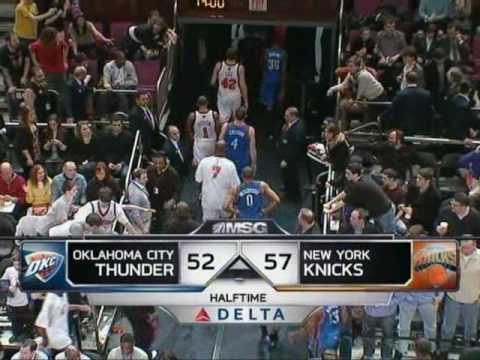The newest Knicks addition Tracy McGrady scores 26pts in his debut
