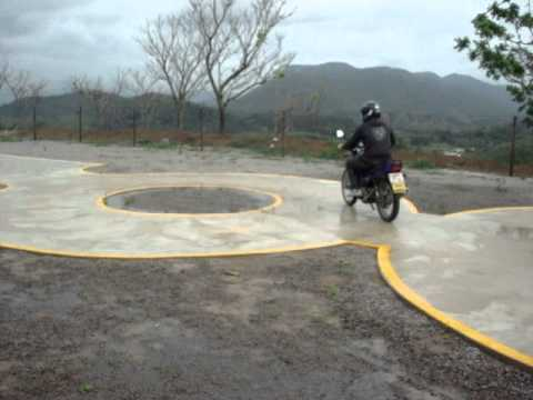 Percurso da Prova de Motos Auto Escola João Neiva