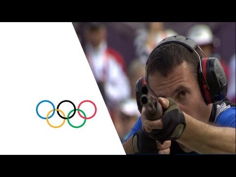 Giovanni Cernogoraz (CRO) Wins Men's Trap Shooting Gold - London 2012 Olympics