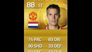 FIFA 15 VAN PERSIE 88 Player Review & In Game Stats Ultimate Team