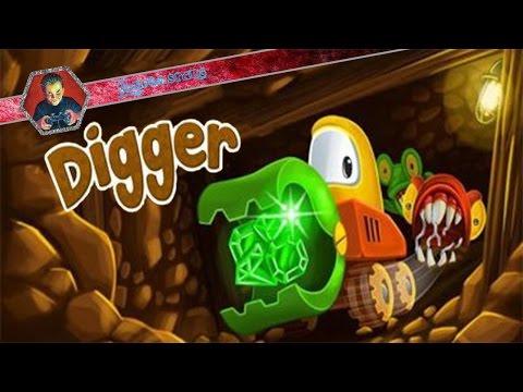 Мини прохождение игры - Digger