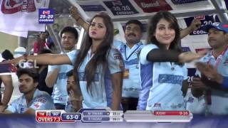 CCL6 - Telugu Warriors vs Bhojpuri Dabanggs || 2nd Innings Fours & Sixes