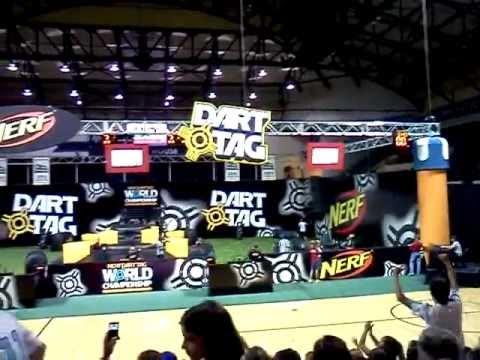 2011 Nerf Dart Tag World Championship 8-12 Final. part 2