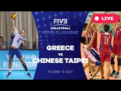 Greece v Chinese Taipei - Group 3: 2016 FIVB Volleyball World League
