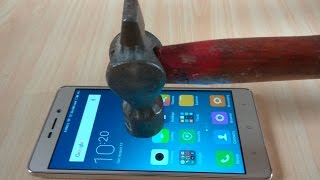 Xiaomi Redmi 3S Prime Screen Scratch Proof glass Test