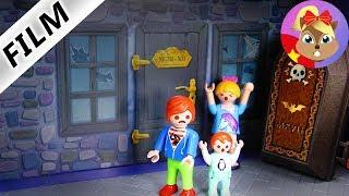 Phim tiếng Đức Playmobil | Khám phá ngôi nhà ma đáng sợ ở thành phố Playmobil