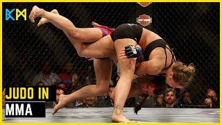 Most Epic Judo Slams In MMA