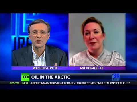 Environmentalists in the Arctic,