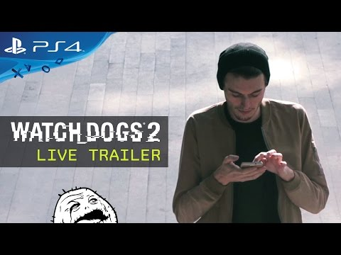 Watch Dogs 2 - Live Trailer
