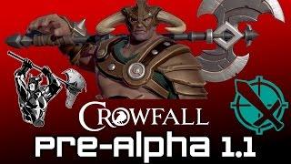 Crowfall Pre-Alpha 1.1 Thoughts - Sick Champion Plays! (Crowfall Champion Gameplay)