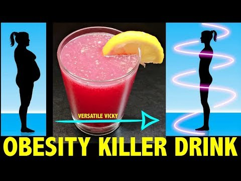 Flat Belly Fat Burner | Fat Cutter Drink For Weight Loss