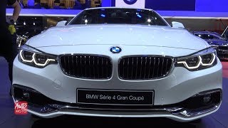 2019 BMW 4 series 420i Grand Coupe - Exterior And Interior Walkaround - 2018 Paris Motor Show
