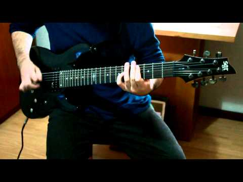 Rape Song by STRAPPING YOUNG LAD (Guitar Cover)