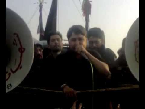 Raza Abbas Zaidi On 8 Rabi Ul Awwal 1433 Hijri Karachi. video