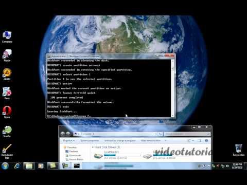 Cum se face un stick usb bootabil pe care vom pune Windows Vista sau Windows7