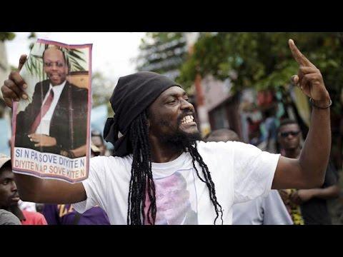 Haiti's President to step down on February 7