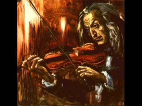 Paganini, Niccolo 3th violinc. mvt3 (end) Polacca. Andantino vivace