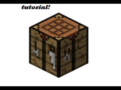 como hacer mesa de crafteo minecraft sirhunters