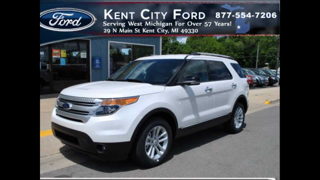 White Ford Explorer >> 2013 Ford Explorer XLT -- White Platinum Metallic Tri-Coat ...