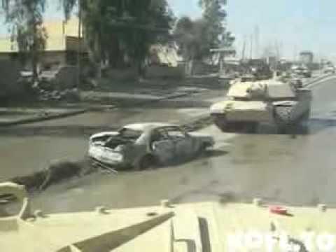 Tank vs car bomb