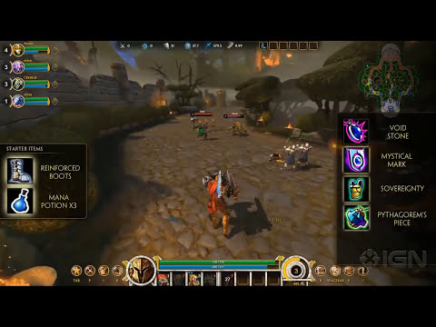 Smite: Ares Reveal Trailer