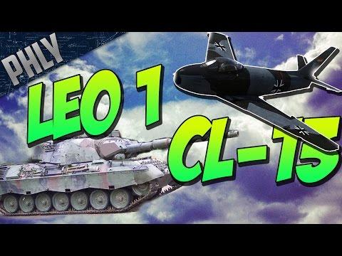 War Thunder TANKS! LEOPARD 1 & CL-13 SABRE! War Thunder Combined ARMS!