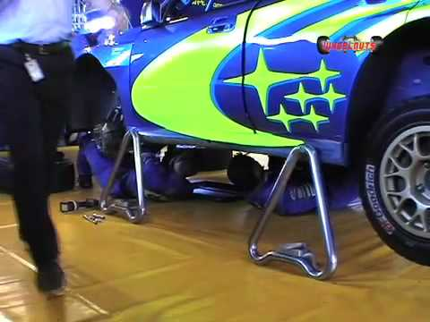Subaru WRC Gearbox Change