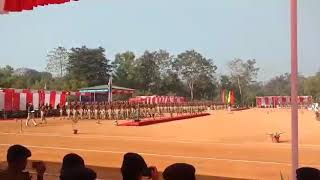 Passing out parade practice (pop) kkt Assam 2019