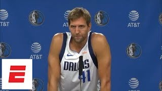 Dirk Nowitzki details scrimmages with Luka Doncic, expectations for 2018-19 NBA season | ESPN