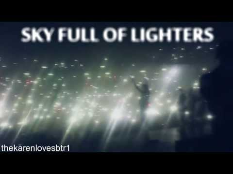 Big Time Rush :: Sky Full Of Lighters Watch In Hd!!! video