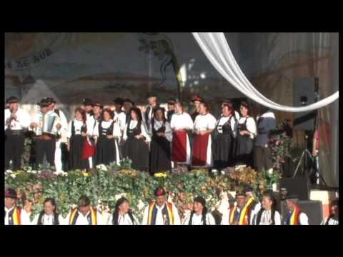 Junii Cetatii Rupea la Strugurele de aur Jidvei 2012
