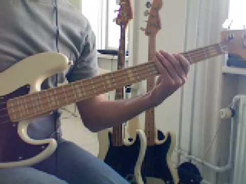 L40 Bluesy bass G7 w doublestops
