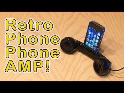 Retro Phone Phone Amp!