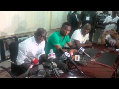 Post Match conference Nigeria vs Egypt
