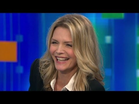 Would Michelle Pfeiffer consider plastic surgery? - CNN Sangay Gupta interview