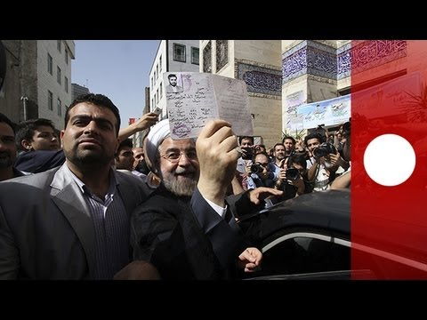 Rohani triumphs in Iranian presidential election