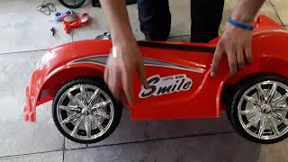 Assembling for baby battery operated ride on car.baby car 1188,baby car,baby vehicle,I NET