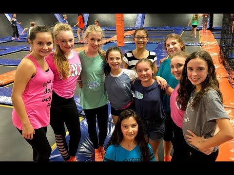 12TH Birthday Party at Sky Zone Indoor Trampoline Park with Princess Ella and Friends