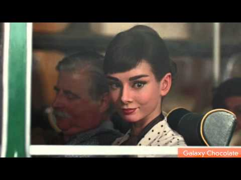 Audrey Hepburn Resurrected For Chocolate Commercial
