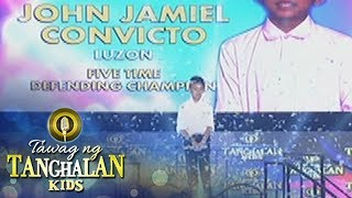 Tawag ng Tanghalan Kids: John Jamiel Convicto enters Semi-Finals