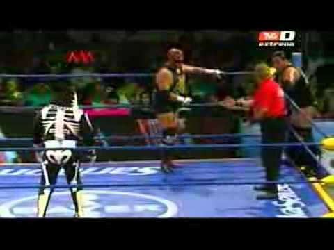 LUCHA LIBRE TRIPLE AAA  FUSION TRASMITIDA EL 17 DE OCTUBRE DEL 2012 POR TVC DEPORTES