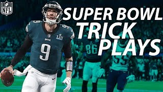 Every Successful Trick Play In Super Bowl History Nfl Highlights