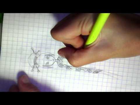 Видео как нарисовать японку поэтапно