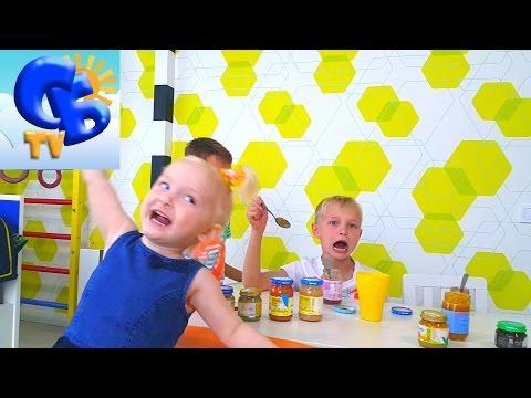 BABY FOOD CHALLENGE ЧЕЛЛЕНДЖ Фруктовых Пюре Challenge of Fruit Puree