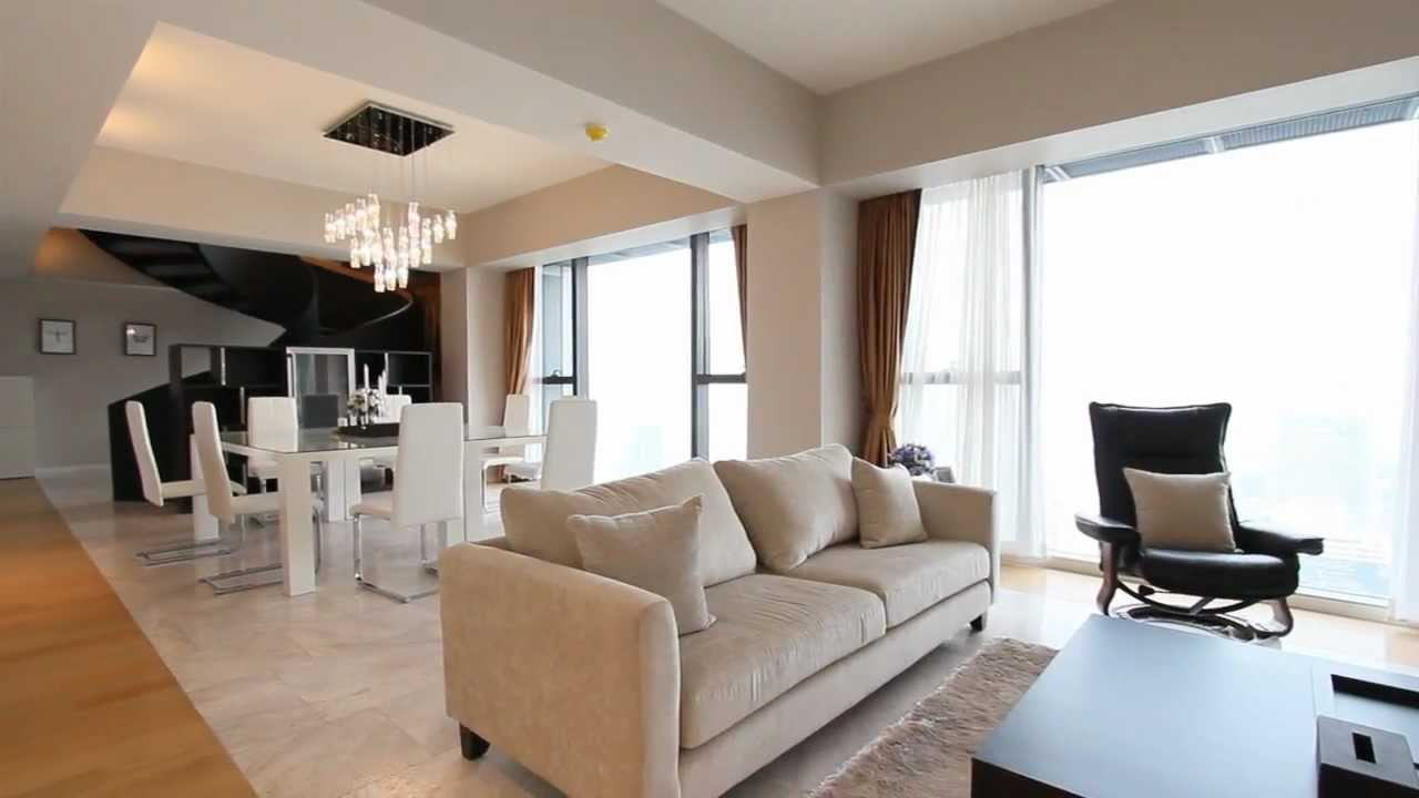 4 bedroom condo for rent at the met condominium i bangkok condo finder youtube. Black Bedroom Furniture Sets. Home Design Ideas