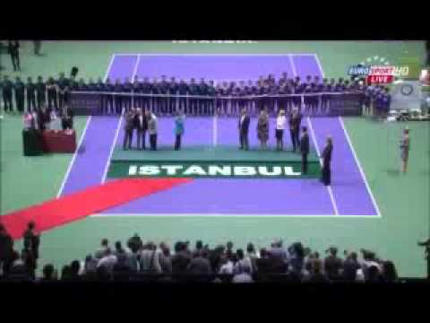 Shocking Protest at WTA Ceremonies - Istanbul / Turkey