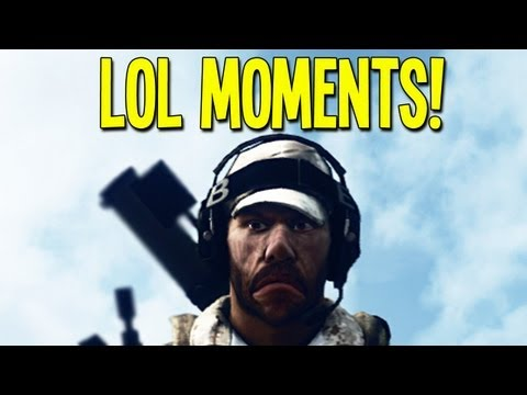 BF3 LOL Moments #3! (Jousting, Mine Jeeps and ALT-F4 Trolling!)