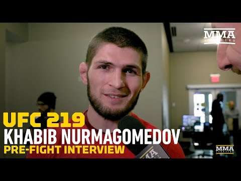 Khabib Nurmagomedov Says Dana White Promised Title Shot With UFC 219 Win - MMA Fighting
