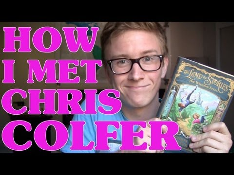 How I Met Chris Colfer | Tyler Oakley